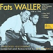 Fats Waller: Complete Recorded Works, Vol. 5 [Box]
