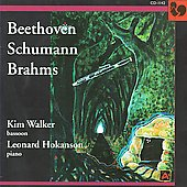Beethoven, Schumann, Brahms: Works for Bassoon and Piano / Kim Walker, Leonard Hokanson