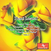 Lazarof: Second Piano Trio, Momenti no 2, etc / Edinger, Schmidt, Hellwig, et al