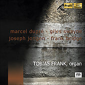 Dupr&eacute;, Swayne, Jongen, Bridge: Organ Works / Tobias Frank