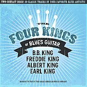 Various Artists: The Four Kings of Blues Guitar