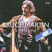 Bruce Martin: A Life in Song - Works by Mozart, Schubert, Verdi, Wagner & more / Bruce Martin, bass; Alberto Remedios, tenor; Michael Brimer, Ron Charles, pianos; Melbourne SO, Pro Arte Orchestra, West Australian SO; Cree, Mackerras, Measham, Verbitsky.