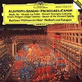 Albinoni: Adagio;  Pachelbel: Canon / Karajan, Berlin PO