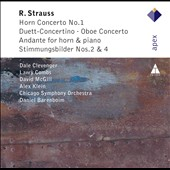 R. Strauss: Horn Concerto No. 1; Duett-Concertino; Oboe Concerto / Clevenger