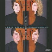 James Willey: String Quartets Nos. 3, 7 & 8 / Esterhazy Qrt