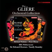 The Gli&#232;re Orchestral Collection / Richard Watkins, horn; Peter Dixon, cello
