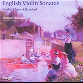 English Violin Sonatas / Susan Stanzeleit, violin; Gusztav Fenyo, piano