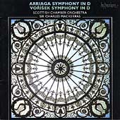 Arriaga, Vor&iacute;sek: Symphonies in D / Mackerras, Scottish CO