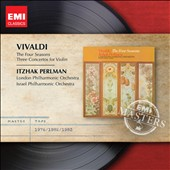 Vivaldi: The Four Seasons; Three Concertos for Violin / Itzhak Perlman