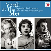 Verdi at the Met, classic live performances from 1935 - 1967 [20 CDs]