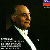 Beethoven: Symphony no 3, etc / Solti, Chicago SO