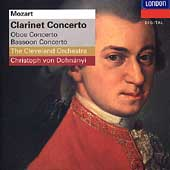 Mozart: Clarinet Concerto, etc / Dohnányi, Cleveland Orch