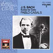 Bach: Suites for Cello Vol 2 / Pablo Casals