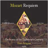 Mozart: Requiem / Brüggen, Orchestra of the 18th Century