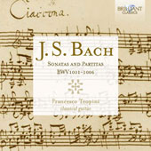 J.S. Bach: Sonatas and Partitas, BWV 1001-1006 / Francesco Teopini, guitar