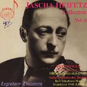 Legendary Treasures - Jascha Heifetz Collection Vol 4