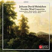 Heinichen: Dresden Wind Concertos / Dean, Stadler, et al