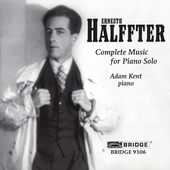 Halffter: Complete Music for Piano Solo / Adam Kent