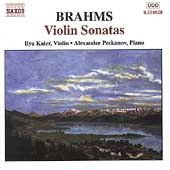 Brahms: Sonatas for Violin and Piano / Kaler, Peskanov