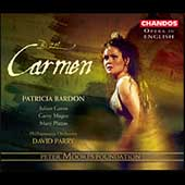 Opera in English - Bizet: Carmen / Parry, Bardon, et al