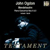 Mendelssohn: Piano Concertos no 1 & 2 / John Ogdon, et al