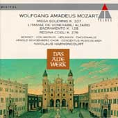 Mozart: Missa Solemnis, etc / Harnoncourt, Concentus Musicus
