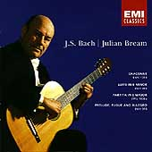 Bach: Chaconne, Suite in E minor, etc / Julian Bream
