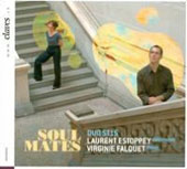Soul Mates - Music for Saxophone & Piano by Maurice; Grella-Mozejko; Charriere; Milhaud / Laurent Estoppey, saxophone; Virginie Falquet, piano