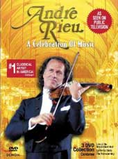Andre Rieu / Celebration Of Music - Slim Line Case [3 DVD]