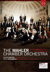 Currentzis Conducts the Mahler Chamber Orchestra: Works of Britten & Shostakovich / Steven Isserlis, cello; Mahler CO; Currentzis [DVD]