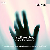 Touch! Don't Touch! - Music for Theremin / Buchholz, Kavina