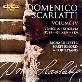D. Scarlatti: Complete Sonatas Vol 4 / Richard Lester