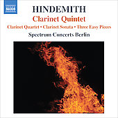 Hindemith: Clarinet Quintet / Spectrum Concerts Berlin