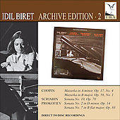 Idil Biret Archive Edition, Vol. 2: Chopin, Scriabin, Prokofiev