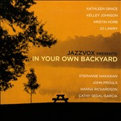 Various Artists: Jazzvox Presents: In Your Own Backyard