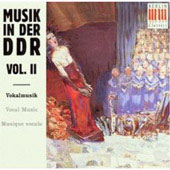 Musik in der D.D.R. Vol II - Vocal Music