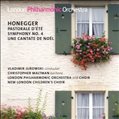 Honegger: Pastorale d'&#233;t&#233;; Symphony No. 4; Une cantate de No&#235;l / Christopher Maltman, baritone