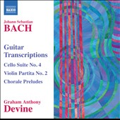 J.S. Bach: Guitar Transcriptions / Graham Anthony Devine