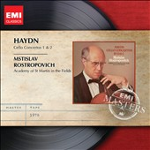Haydn: Cello Concertos Nos. 1 & 2 / Mstislav Rostropovich