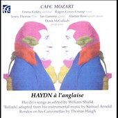 Haydn à la Anglaise - Haydn songs edited by William Shield / Emma Kirkby, soprano; Rogers Covey-Crump, tenor