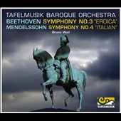 Beethoven: Symphony no 3; Mendelssohn: Symphony no 4 