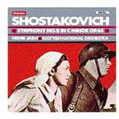 Shostakovich: Symphony no 8 / Järvi, Scottish National Orch