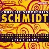 Schmidt: Complete Symphonies / J&auml;rvi, Chicago SO, Detroit SO