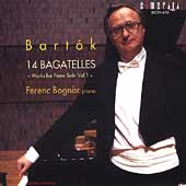 Bartók: Works for Piano Solo Volume 1 / Ferenc Bognár