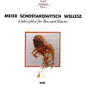 Meier, Shostakovich, Wellesz: Song Cycles / Mazzola, Harris
