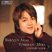 Baroque Arias / Mera, Suzuki, Bach Collegium Japan