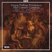 Telemann: Cornett Cantatas / R&#233;my, Sp&#228;gele, Voss, et al