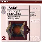 Dvor&#225;k: Complete String Quintets, etc / Berlin Phil Octet