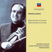 Mendelssohn: Violin Concerto in E minor; Violin Concerto in D minor
