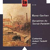 Gerber: Sonatines du Terroir Parisien / Aubert-Tackett